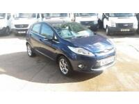 2012 / 62 Plate Ford Fiesta 1.25 Zetec 5dr 65K Miles from new