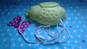 Lady bug  green lamp