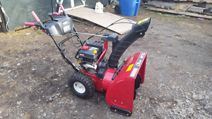 24inch snowblower for sale.