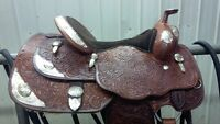 """SHOW SADDLE- 15"""" BILLY COOK"""