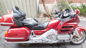 Magnificent 2001 Gold Wing GL1800A