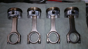 Honda B18A/B pistons and rods