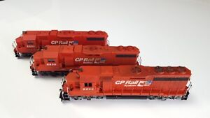 HO Scale - Model Trains - CP System 3pk