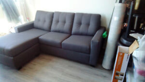 Custom Sofa Bed with Lounge