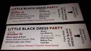 Cheap ladies night out!Little black dress charity event tickets