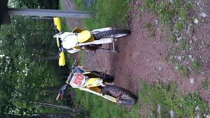 2009 Suzuki RM85  (with parts bike)