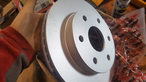 New rotors in box maybe chevy 4x4 truck?