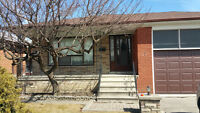 Bungalow for rent in North York (Jane & Maple Leaf Dr)