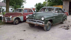 50 dodge special deluxe & 52 crusader trade for a dodge crew cab