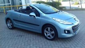Peugeot 207 CC 1.6 VTi 120 . Sport 2011.'61 REG.JUST SERVICED AND MOT.