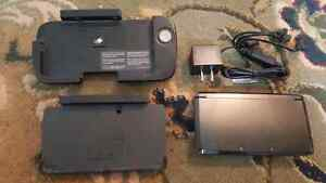 3DS System w/ Charger, Dock, Pro Attachment & Optional Games