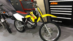 Trail Use only DRz125 with no modifications, All Original