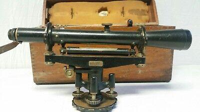 Vintage Warren Knight Co Transit Surveying Scope Tool Level Wk 18 Vp