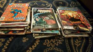 Lot of ~100 bulk comic marvel DC