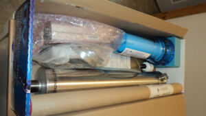 Rainfresh UV water purification system and large pre filter