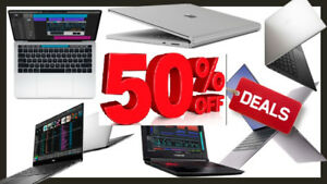 LAPTOPS BLOW OUT SALE i3,i5,i7 UP TO 50% OFF STARTING FROM $99