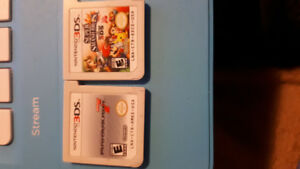 Mario Kart 7 and Smash Bros for Nintendo 3DS