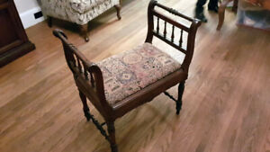 Antique Hall Bench