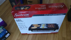 Sunbeam 14-Inch X 18-Inch Non-Stick Electric Griddle