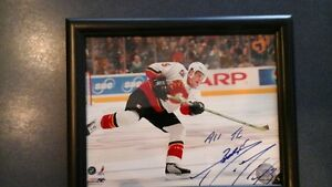 Autographed Dion Phaneuf Calgary Flames 8x10 Photo