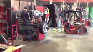 TIRES CHANGEOVERS IN 15 MINS GREAT SERVICE DECENT TIRES