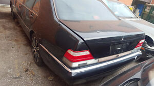 1998 Mercedes Benz S500 S Class - Part Out / Parting Out Regina Regina Area image 2