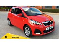 2016 Peugeot 108 Hatchback 1.0 Active 3dr Manual Petrol Hatchback