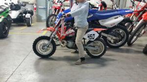 Recherche motocross ktm .kx 50 ou 65 cc