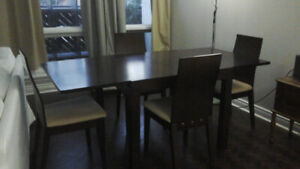 Dining Set (Expandable) and Coffe tables for sale