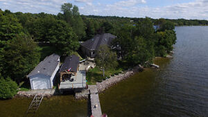 EXCLUSIVE WATER FRONT PROPERTY - Just 55 minutes from 407