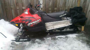 2010 Polaris switch back dragon 800