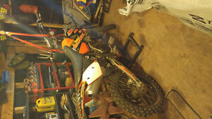 2006 Ktm 450sx winter deal