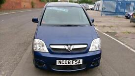 VAUXHALL MERIVA 1.3 CDTi DIESEL BREEZE ONLY 69000 MILES AIR CON, LONG TEST 2008