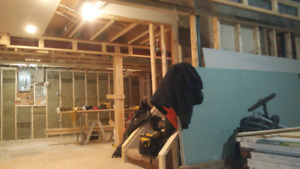 Kitchens, Bathrooms and Basements.