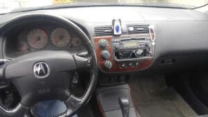 2001 Acura El with winter tires
