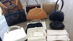 Thirteen Vintage Purses