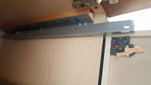 """Slide 13 pairs for 24""""D standard base cabinets"""