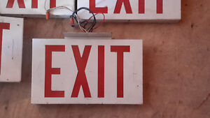 EXIT sign - Used