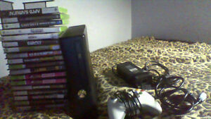 great condition xbox 360 for sale, lots of games!