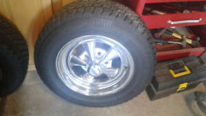 Wheels tires artic claw winters on cragars 15×7 x2