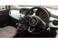 2017 Fiat 500 1.2 Lounge 3dr Manual Petrol Hatchback
