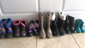 Back to School SHOES! Girls Shoes/Sneakers/Rain & Winter Boots