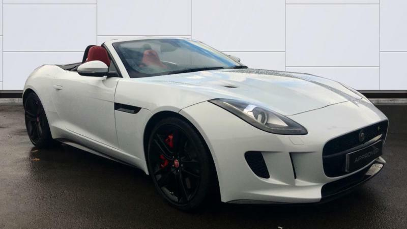 2016 Jaguar F-TYPE 3.0 Supercharged V6 S 2dr AWD Automatic Petrol Convertible