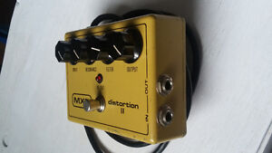 MXR DISTORTION II vintage 80's guitar footpedal
