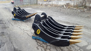 Brand new Severe Duty Excavator Root Rake (Product Code: R4033)