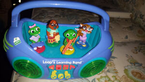 Leap frogs learning band