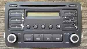 Radio /CD Player, Volkswagen Jetta, GTI, Rabbit MK5