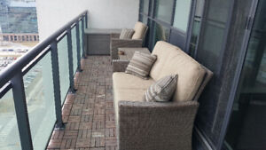 Balcony furniture set