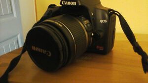 canon rebel xs with battery grip (new price)