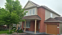 Beautiful 3+1 bedroom Single family home for rent in Barrhaven